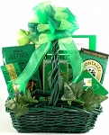 St Patty's Day Snack Gift Basket St Patricks