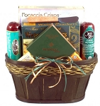 St Patricks Day Gift Basket Snackers Delight