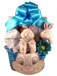 Easter Gift Basket Baby Boy Thumper