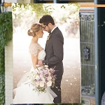 Personalized Photo House Flag