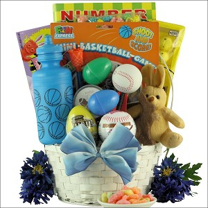 Gift basket for boys ages 6 to 9 sports egg streme easter gift basket for boys ages 6 to 9 sports egg streme negle Gallery