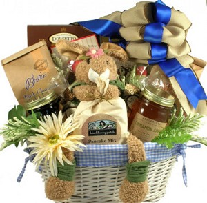 Easter gift basket gourmet breakfast negle Gallery