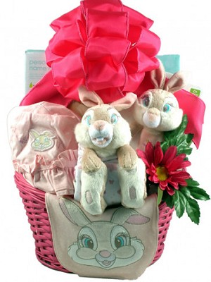 Easter gift basket baby girl miss bunny negle Choice Image